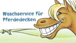 Waschservice für Pferdedecken MS Dienstleistungen